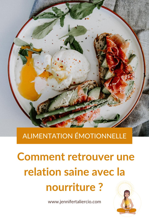 Alimentation émotionnelle - Troubles alimentaires : comment améliorer sa relation avec l'alimentation ?